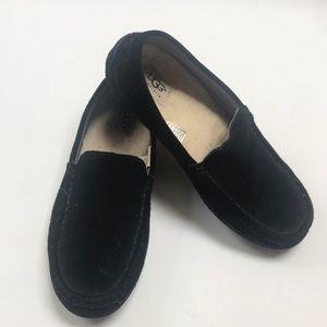 Women's UGG suede slippers 8